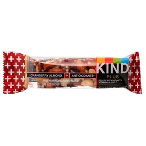 KIND Cranberry Almond plus Antioxidants Bars (Box of 12 Bars)