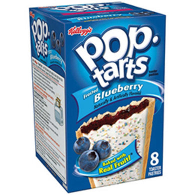 CASE OF POPTART FROSTED**BLUEBERRY