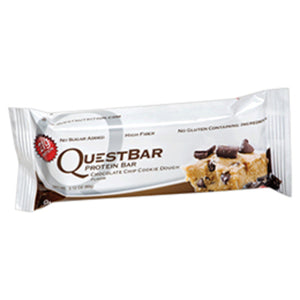 Quest Chocolate Chip Cookie Dough Protein Bar (Box of 12 Bars)