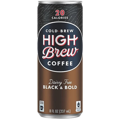 HIGH BREW BLACK and BOLD 12/8OZ