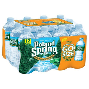 12 OUNCE POLAND SPRING 12 PACK