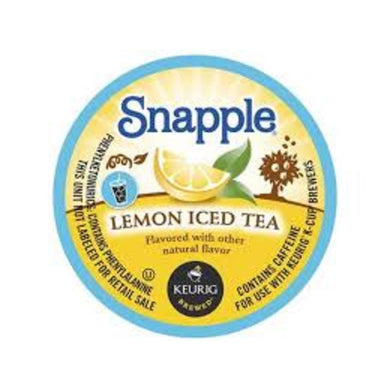 CANS OF SNAPPLE **ICE TEA** 24/12oz