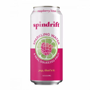 SPINDRIFT RASPBERRY LIME SELTZER CS