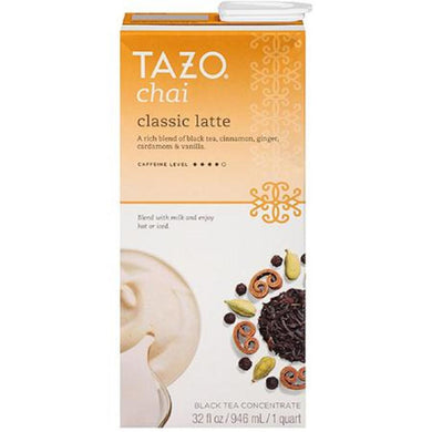 TAZO CHAI TEA LATTE 6/32 OZ