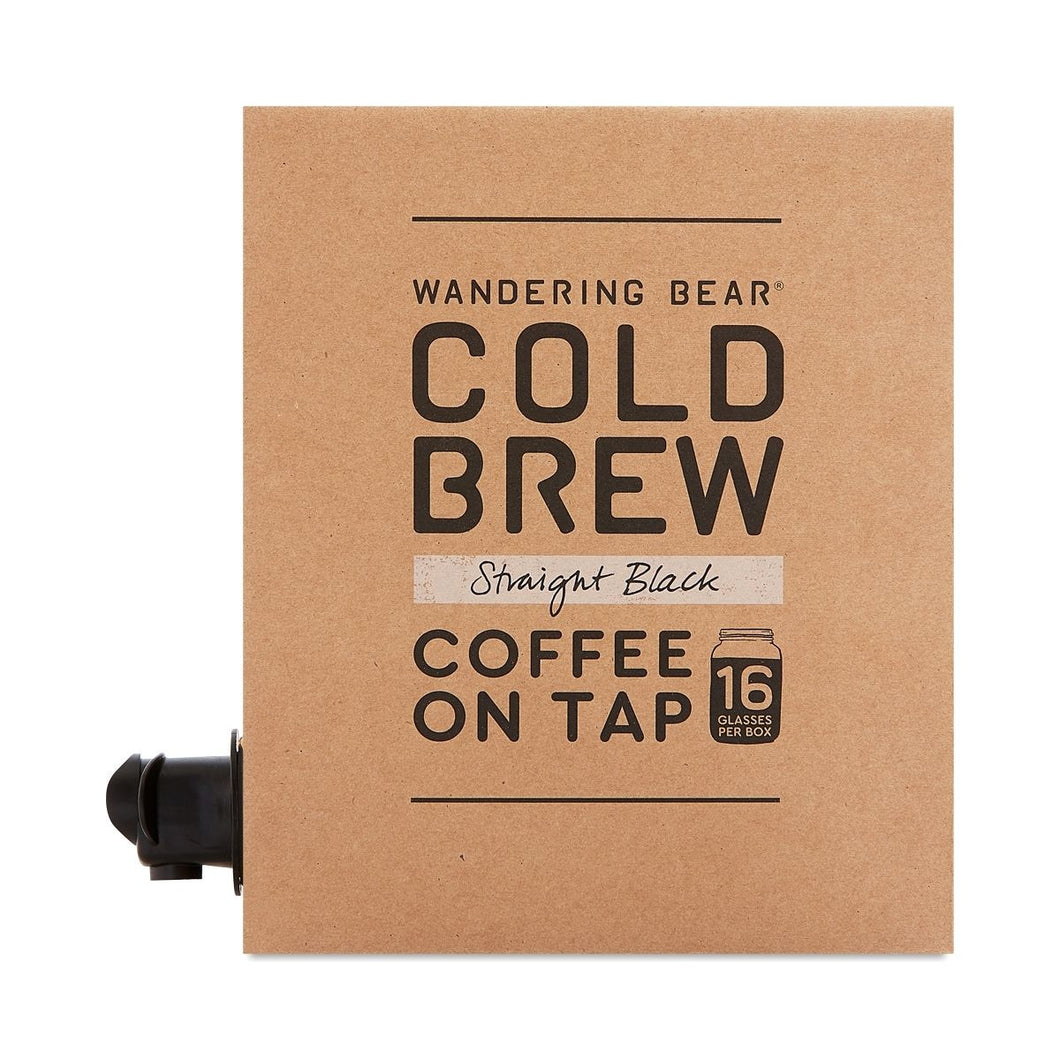 WANDERING BEAR  5 GAL COLD BREW BOX