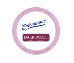ENTENMANN DARK ROAST PODS 6/18 CT