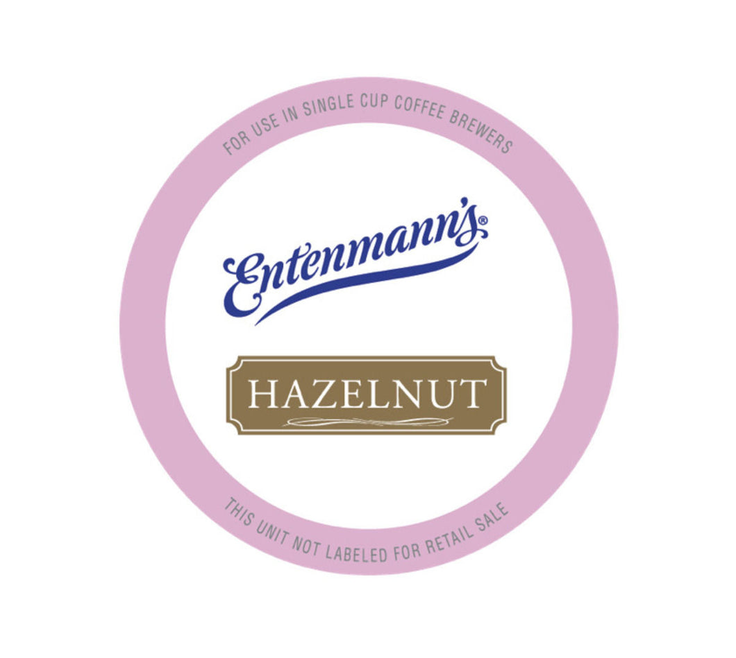 ENTENMANN HAZELNUT PODS 6/18 CT