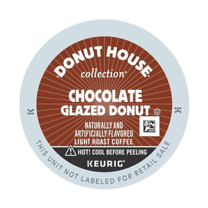 Green Mountain Coffee Roasters Chocolate Glazed Donut Coffee KCups (Case of 96)