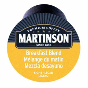 Martinson Breakfast Blend Coffee Pods (Box of 24)