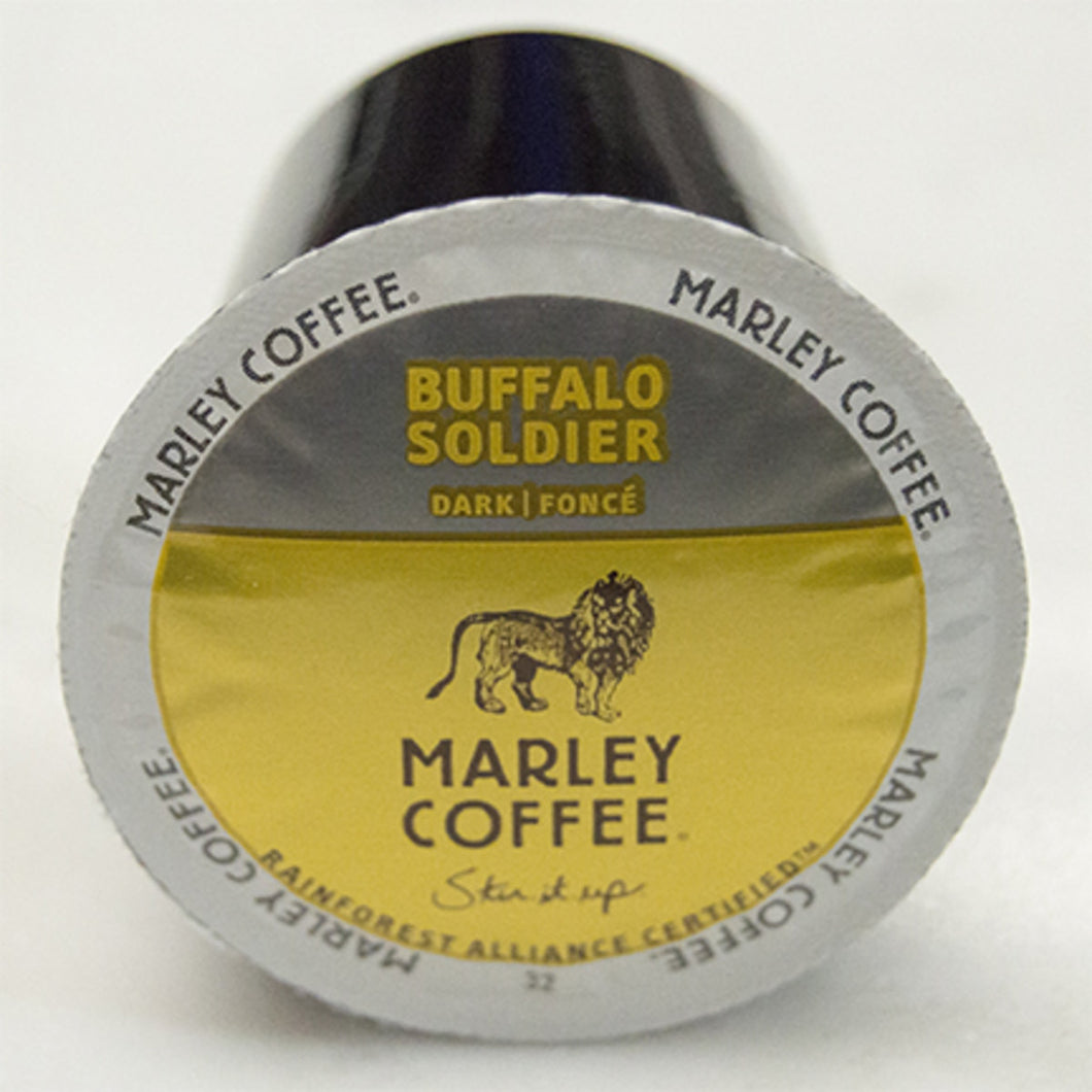 Marley Coffee Buffalo Soldier Coffee Pods (Box of 24)