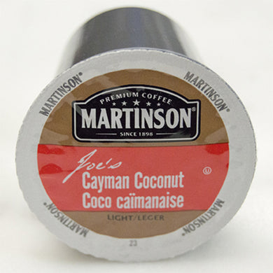 Martinson Cayman Coconut Coffee Pods (Box of 24)