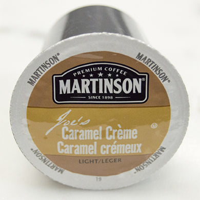 Martinson Caramel Creme Coffee Pods (Box of 24)
