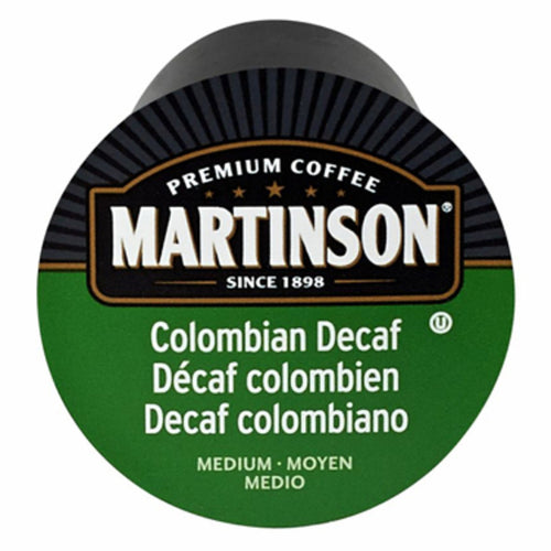Martinson Colombian Decaf Coffee Pods (Box of 24)