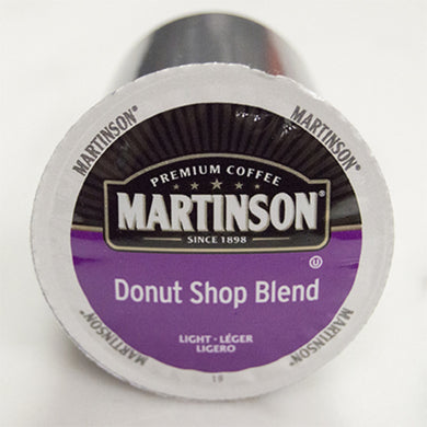 Martinson Donut Shop Blend Coffee Pods (Box of 24)