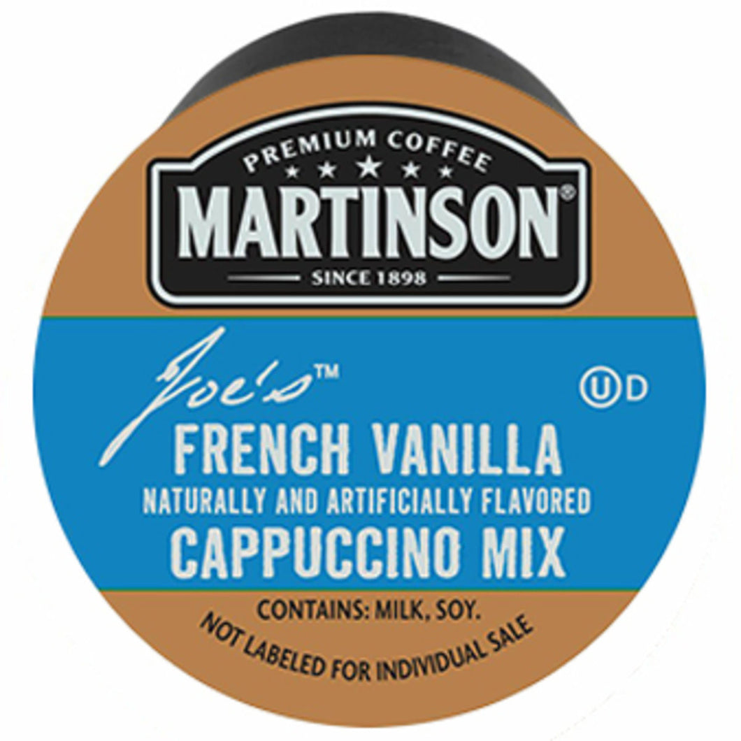 Martinson French Vanilla Cappuccino Pods (Box of 24)