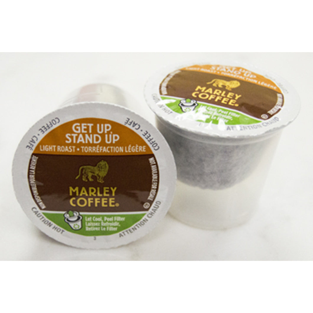 Marley Coffee Get Up Stand Up Coffee Pods (Box of 24)