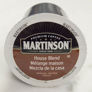 Martinson House Blend Coffee Pods (Box of 24)