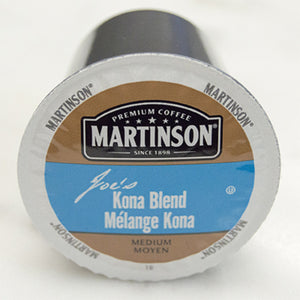 Martinson Kona Blend Coffee Pods (Box of 24)