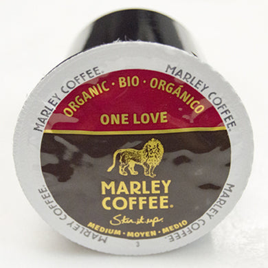 Marley Coffee One Love Coffee Pods (Box of 24)