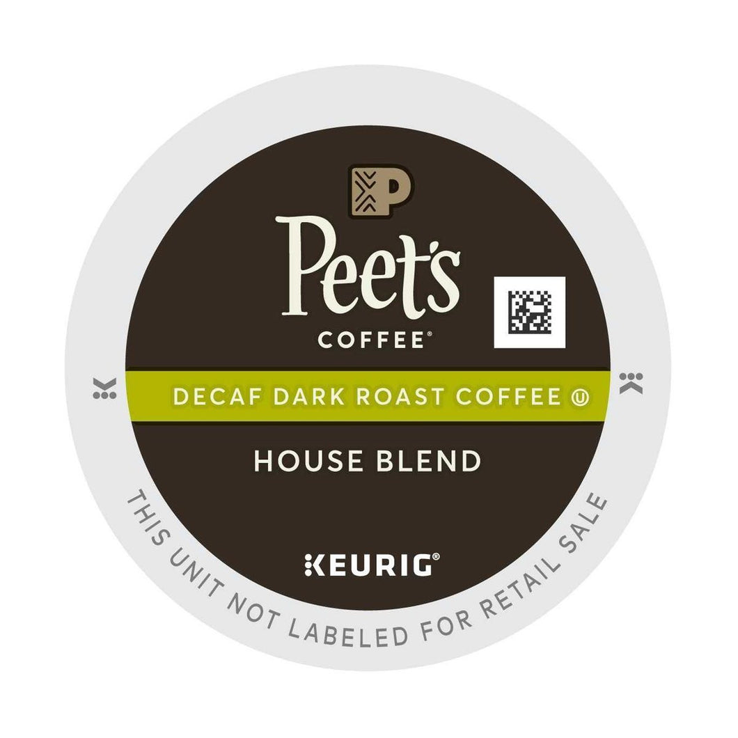 PEETS DECAF HOUSE BLEND CASE