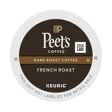 PEETS FRENCH ROAST K-CUPS CASE