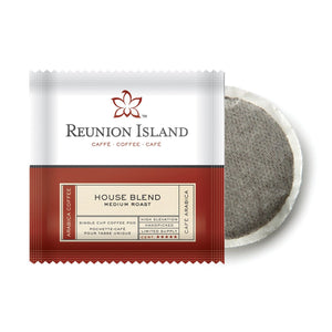 Reunion Island House Blend Coffee Pods (Case of 108 Pods)