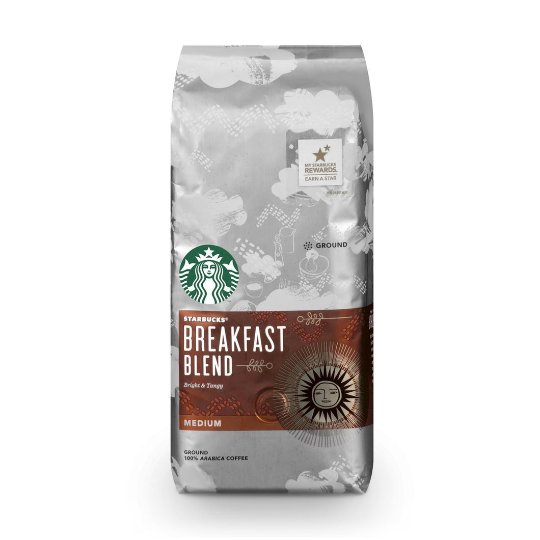 STARBUCK BREAKFAST BLEND 2.5oz BOX