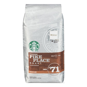 PIKES PLACE WHOLEBEAN STARBUCKS 6/1