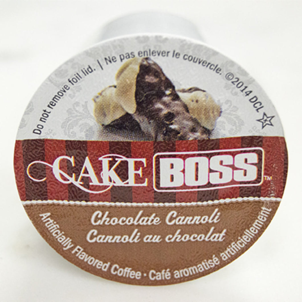 Cake Boss Chocolate Cannoli Coffee KCups (Box of 24)