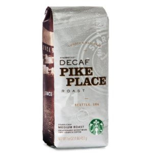 STARBUCKS PIKE PLACE DECAF 6/1LB