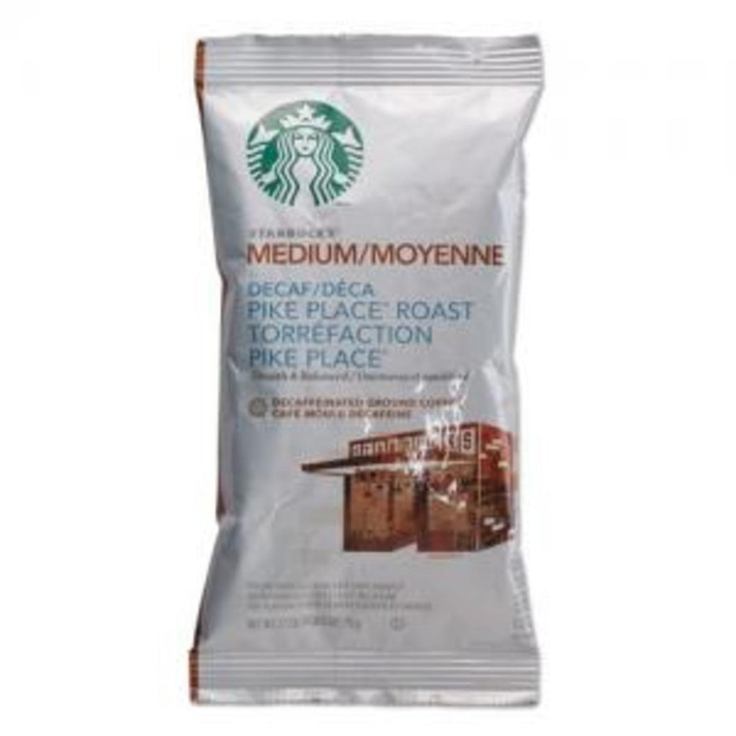 STARBUCKS PIKE PLACE DECAF BX18/2.5
