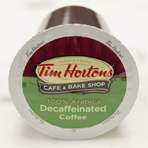 TIM HORTONS DECAF R CUP BX 24