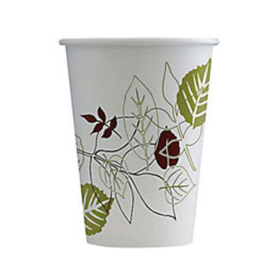 DIXIE PATHWAY 12oz PAPER HOT CUPS