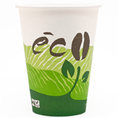 12oz ECO HOT CUP 1000 CASE