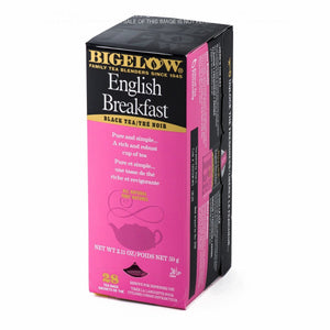 #144 BIGELOW ENGLISH BREAKFAST 6/28