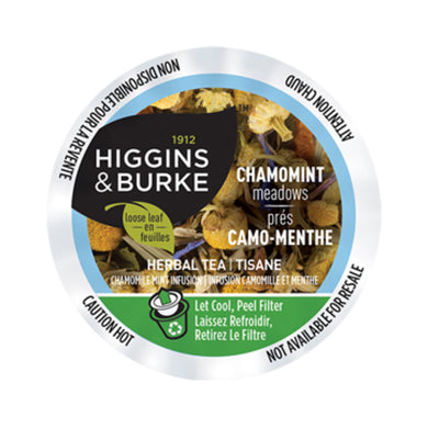 Higgins & Burke Chamomint Meadows Tea Pods (Box of 24)