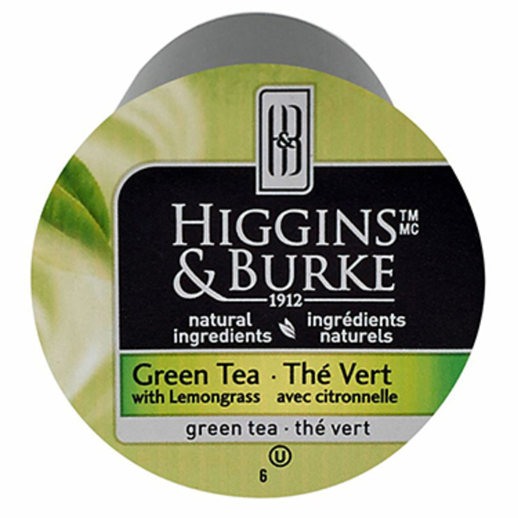 Higgins & Burke Green Tea with Lemongrass KCups (Box of 24)