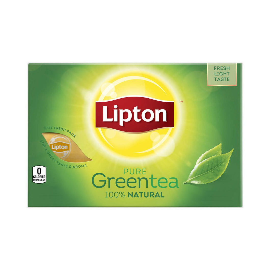 GREEN TEA**BAGS**LIPTON - 5/100