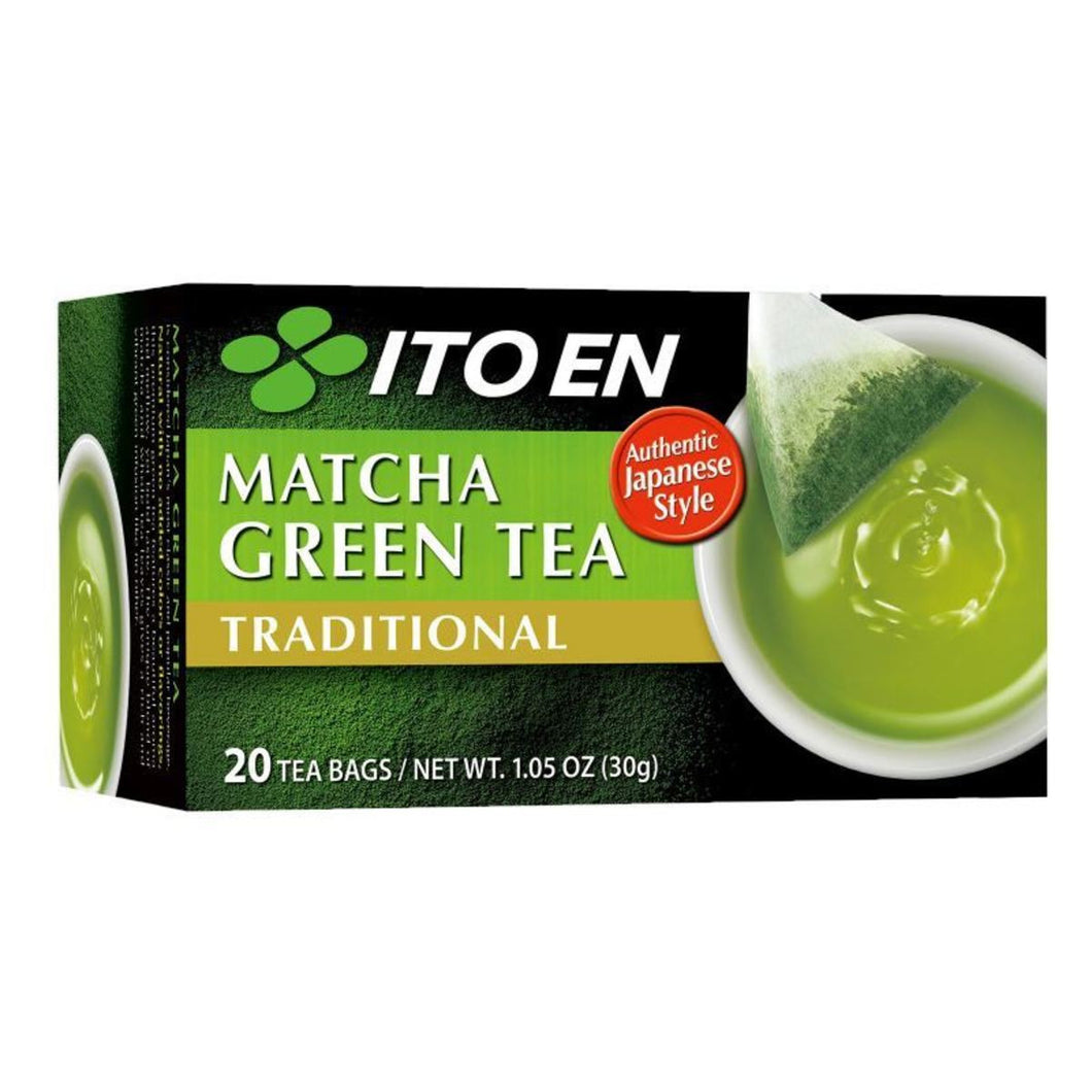 MATCHA TRADITIONAL GREEN TEA 8/20CT