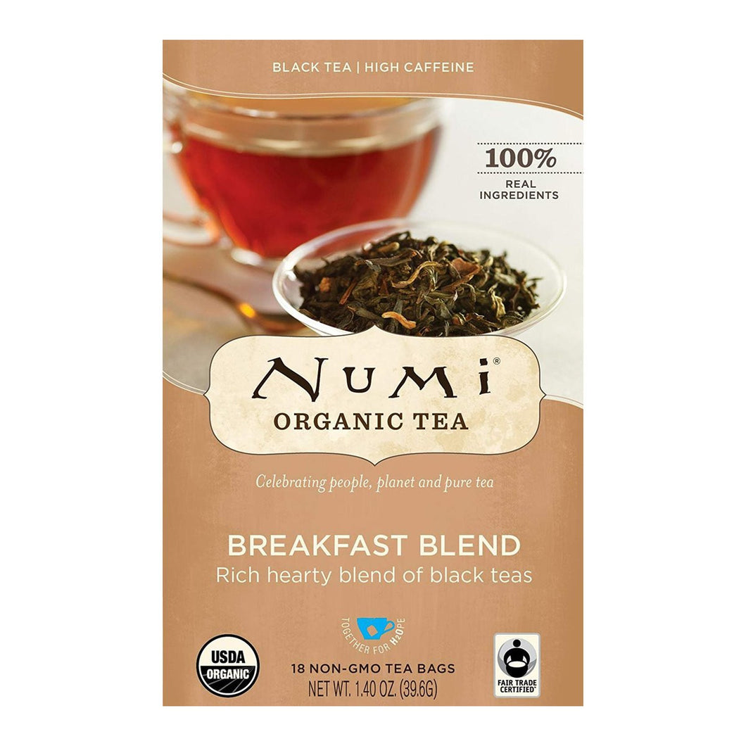 NUMI BREAKFAST BLEND TEA 6/18 CS