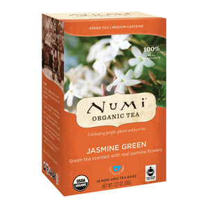 NUMI JASMINE GREEN TEA 6/18