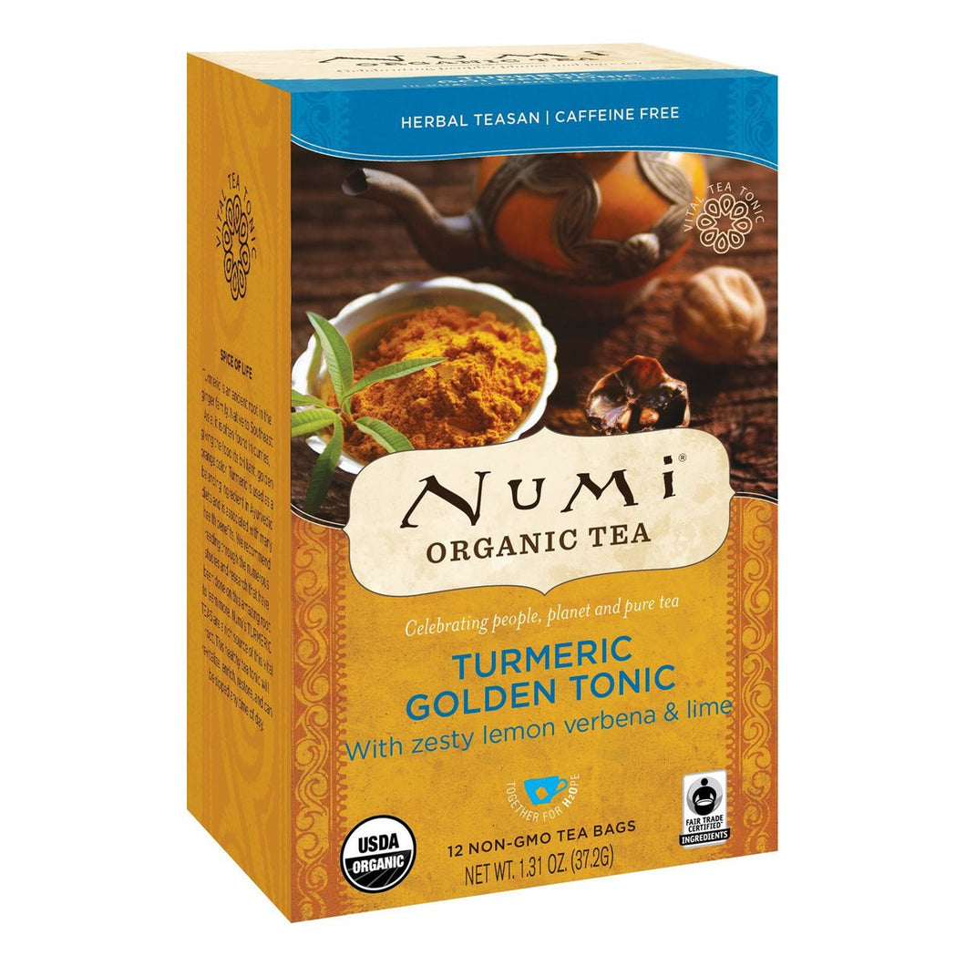 NUMI TUMERIC GOLDEN TONIC 6/12 CT