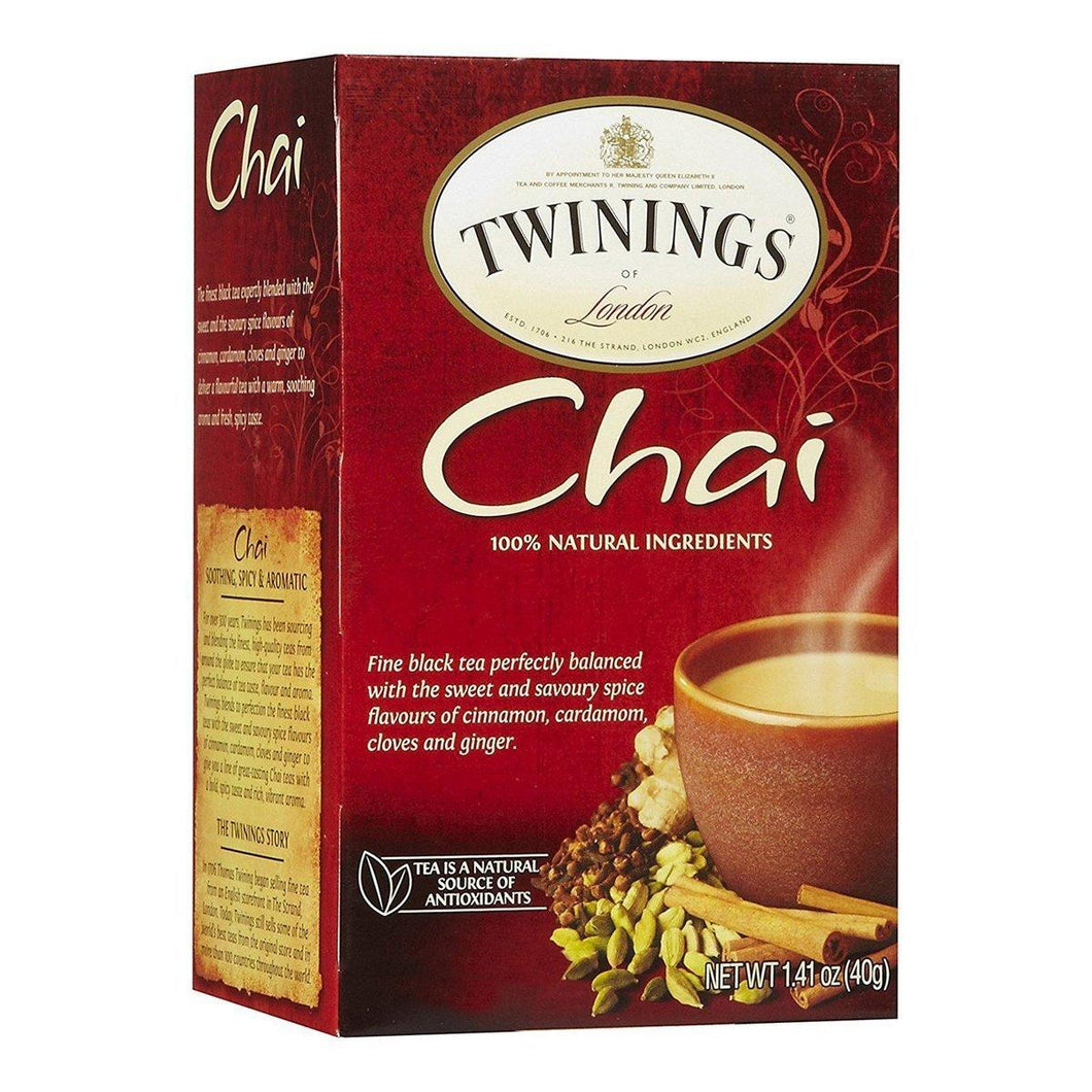 TWGS CHAI TEA ***CASE 6/20***