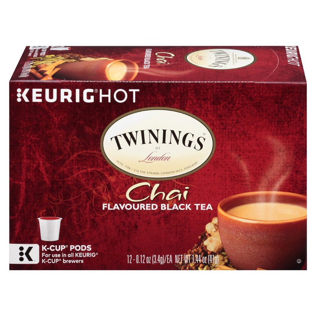 TWGS***CHAI TEA***K-CUPS***CASE