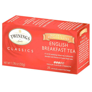 TWGS DECAF BAGS ENG BREAKFAST CASE