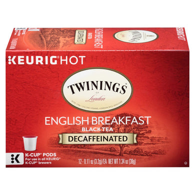 English Breakfast Decaffeinated Tea (Black Tea)