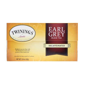 Earl Grey Decaffeinated Tea (Black Tea)
