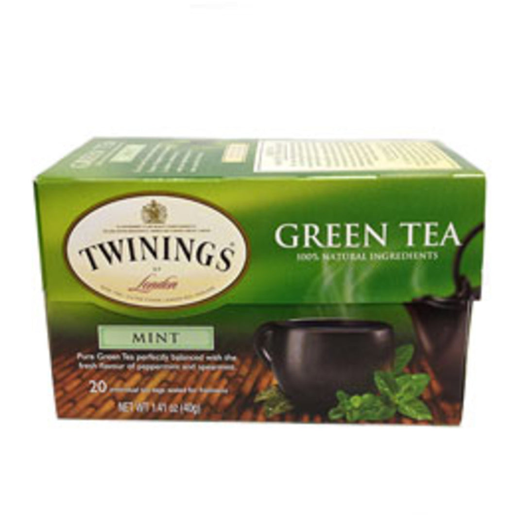 BAGS**TWGS*GREEN TEA WITH MINT CASE