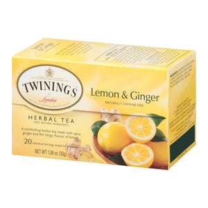 TWIN LEMON and GINGER **CASE 6/20**