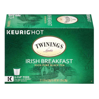 TWGS**IRISH BREAKFAST K-CUPS***CASE